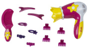 """Theo Klein 5309 """"Barbie"""" Hairdressing Set with Hairdryer"""