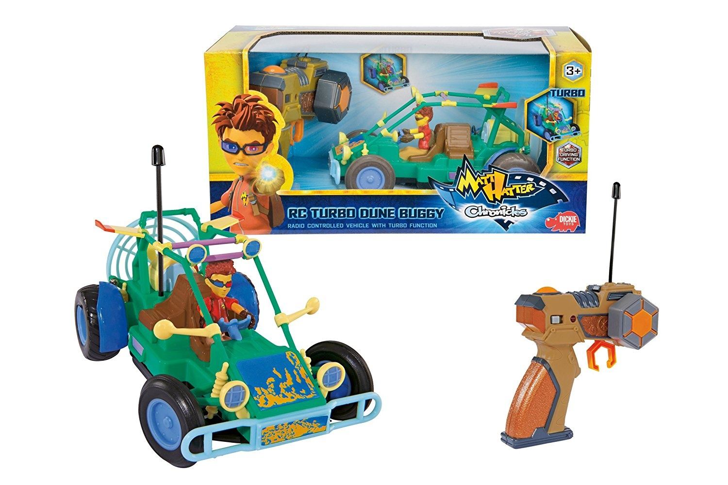 Vtech Tut Blidos Radio Controlled Miki Rapide Car Circuit Toy Remote Control