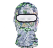 Hillento outdoor cycling fishing hunting jungle camouflage headgear bionic face mask sunscreen breathable wicking