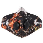 DDLBiz Running Anti Dust Dustproof Motorcycle Riding Bike Ski Half Face Mask Filter