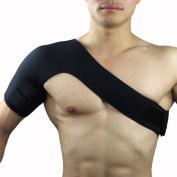 4UGoods Gym Sports Single Shoulder Brace Support Strap Wrap Belt Shoulder Support