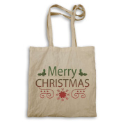 HAPPY MERRY CHRISTMAS XMAS FUNNY NOVELTY NEW Tote bag l23r
