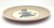Pizza And Pie Dish Aluminium Non-Stick Coating - Diameter 30 cm Rose Vintage