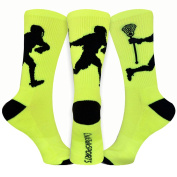 Athletic Half Cushioned Crew Socks | LAX Player Design