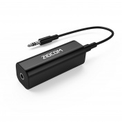 Ground Loop Noise Isolator ZIOCOM [ Eliminate the Buzzing Noise Completely while Playing Music ] for your Car Audio System/Home Stereo with 3.5mm Audio Cable