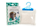 LIVIVO ® Interior Hanging Dehumidifiers Bag- Helps Stop Damp, Mildew, Mould and Condensation (Dehumidifier Absorbs Up To 3 Times Its Own Weight in Water)