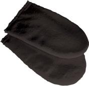 Deo Paraffin Wax Manicure Pedicure Mitts Treatment Cotton Black Hands