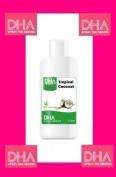 DHA TROPICAL COCONUT SPRAY TAN SOLUTION 9% 1 LITRE FACTORY SEALED