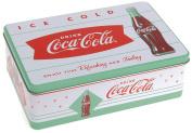 Retro Vintage Coca Cola Design Metal Tin Cake Biscuit Food Sandwich Lunch Box