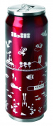 Ibili 796905 Can Insulated Eco 500 ml Stainless Steel Red 7 x 7 x 20 cm