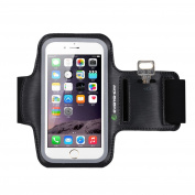 iPhone 6s Armband, Evershow Premium Water Resistant Sport Armband for iPhone 6, 6S Case Running Pouch Touch Compatible Key Holder | Also Fits Galaxy S6 Edge, S7