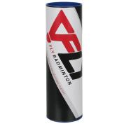 FLY Flylon Badminton Shuttlecocks - Tube of 6 Nylon Shuttlecocks - White / Yellow - Slow / Medium / Fast
