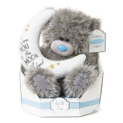 """Me to You SG01W4100 23cm Tall """"Tatty Teddy Signature Collection Love You to The Moon And Back Sits"""" Plush Toy"""