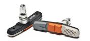 AWE® Triple Contour V Brake Pads Grey/Orange/White 72mm