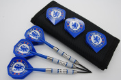 26g 28g 30g Tungsten darts set, Chelsea dart flights, 2 tone nylon shafts, dart case