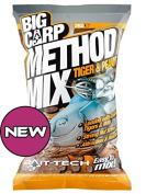 BIG CARP METHID MIX GROUNDBAIT - TIGER NUTS AND PEANUT - 2KG