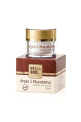 Natural day face skin cream 100% organic oil ARGAN & MACADAMIA