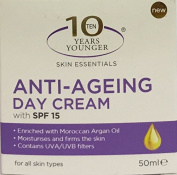 10 Years Younger Skin Essentials Anti-Ageing Day Cream SPF15 50ml