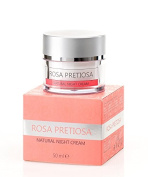 ROSA PRETIOSA Natural Night Cream Face skincare with Organic Rose Oil