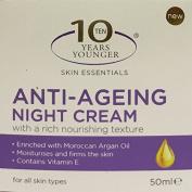 10 Years Younger Skin Essentials Anti-Ageing Night Cream 50ml