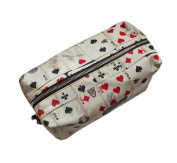 PAUL SMITH MEN'S PLAYING CARDS WASHBAG, TOILETRY BAG