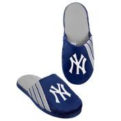 New York Yankees Hard Sole Stripe Slipper