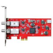 """TBS"" 6902 Dual Satellite HD Low-profile PCIe TV Tuner Card DVB-S2"