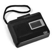 Trevi CR 410 Portable Cassette Recorder - Black