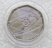 2017 Sir Isaac Newton 50p Fifty Pence Coin Uncirculated by the Royal Mint