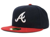 New Era Atlanta Braves MLB Authentic Collection 59FIFTY On Field Cap NewEra
