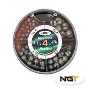 4 Way NGT Non Toxic Shot carp/coarse fishing
