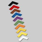 Iron-On Chevron Patches - 20 Pack