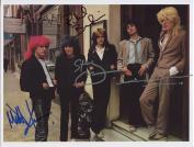 Japan (Band) David Sylvian Mick Karn + 2 FULLY SIGNED Photo 1st Generation PRINT Ltd 150 + Certificate