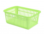 Whitefurze Handy Basket, Green, 45cm
