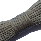 Paracord 550 100 ft - 30 Metres | Many Colours | Ideal For Use Outdoors, Camping, In The Garden Or For Braiding Bracelets