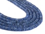 Natural Gemstone Kyanite Heishi Rondelle Loose Beads 41cm 130pcs+
