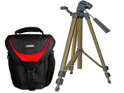 Photo Bag Camera Holster Professional Tough with Sniper Strap with Portable Tripod Compact