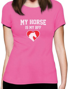 My Horse Is My BFF Gift for Horse Lovers Women T-Shirt