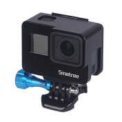 Smatree Aluminium Alloy Protective Housing Frame Mount with Plastic Quick Release Buckle for GoPro Hero 5