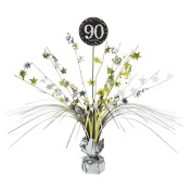 90th Birthday Spray Centrepiece Table Decoration | Age 90 Party Supplies