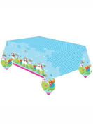 Amscan International 9902104 Unicorn Plastic Tablecover 1.2M x 1.8M