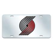 Fan Mats Portland Trail Blazers Licence Plate Inlaid