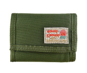 Rough Enough Cordura Trifold Hook and loop Wallet with Gift Box Wrap / Removable Card Pockets
