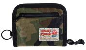 Rough Enough Cordura Soft Nylon Sports Bifold Wallet With Paper Box Gift Wrap