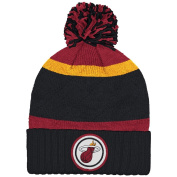 Mitchell And Ness Nba Current Quilt Stripe Crown Knit Hat