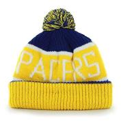 "47 Brand ""Calgary"" Cuff Beanie Hat with POM POM - NBA Eastern Conference Cuffed Knit Cap"