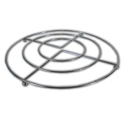 20cm Chrome PAN STAND -Trivet Metal Wire Frame Pot Holder, For Pans, Casserole Dishes & Ovenware