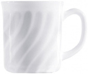 Esmeyer Trianon 441-039 Cup with Handles 0.29 Litres Arcopal Hard Glass Set of 6 White