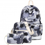 KAXIDY School Backpack Travel Bag Unisex School Bag Collection Canvas Backpack