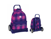 Safta School Backpack, Pink / Blue (multicolour) - 077526
